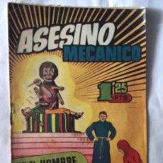 Tebeos: HOMBRE ENMASCARADO - ASESINO MECÀNICO - NUM. 34- PEQUEÑA OBERTURA EN LOMO. Lote 190936420