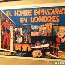 Tebeos: HOMBRE ENMASCARADO - EL HOMBRE EN. EN LONDRES. Lote 190936540