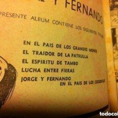 Tebeos: JORGE Y FERNANDO - ALBUM ROJO Nº. 3. Lote 190936837