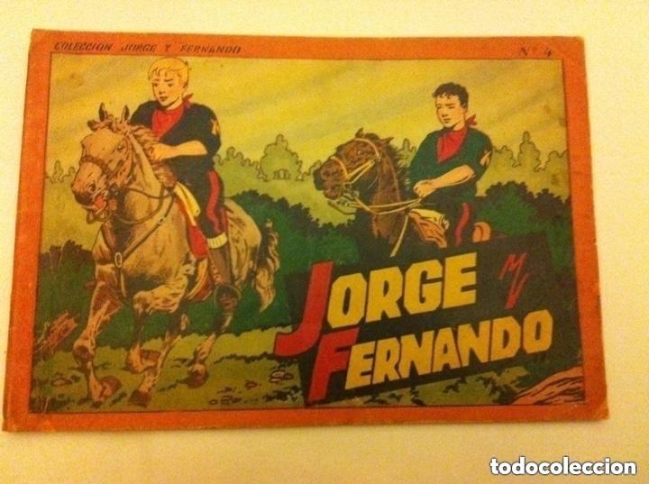 JORGE Y FERNANDO - ALBUM ROJO Nº. 4 (Tebeos y Comics - Hispano Americana - Jorge y Fernando)