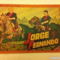 Tebeos: JORGE Y FERNANDO - ALBUM ROJO Nº. 4. Lote 190936980