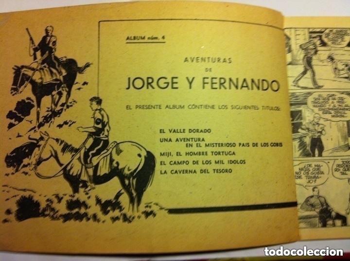 Tebeos: Jorge y Fernando - album rojo nº. 4 - Foto 2 - 190936980