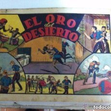 Tebeos: JORGE Y FERNANDO - EL ORO DEL DESIERTO (PORTADA SUELTA. Lote 190937592
