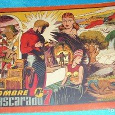 Tebeos: HOMBRE ENMASCARADO VOL.ROJO Nº 7 H. AMERICANA 1943-ORIGINAL- LEER Y VER FOTOS. Lote 191265717