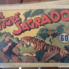 Tebeos: EL TIGRE SAGRADO ORIGINAL. Lote 191291690