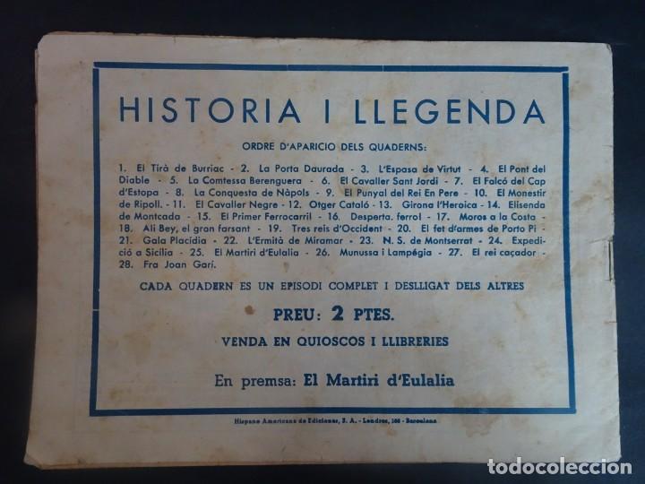 Tebeos: Historia i Llegenda Nº 24 Expedició a Sicilia , Hispano Americana - Foto 10 - 191437342