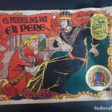 Tebeos: HISTORIA I LLEGENDA - Nº 9 EL PUNYAL DEL REI - HISPANO AMERICANA. Lote 191437536