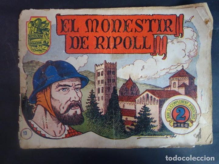 HISTORIA I LLEGENDA - Nº 10 EL MONESTIR DE RIPOLL - HISPANO AMERICANA (Tebeos y Comics - Hispano Americana - Otros)