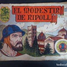 Tebeos: HISTORIA I LLEGENDA - Nº 10 EL MONESTIR DE RIPOLL - HISPANO AMERICANA . Lote 191437978