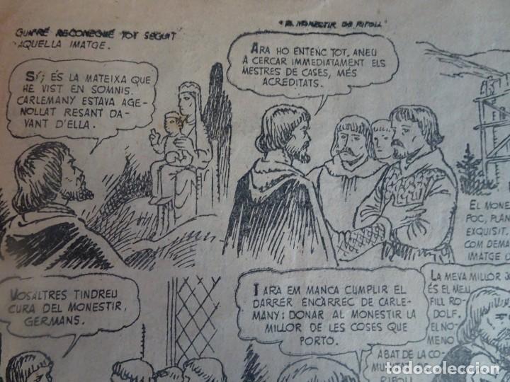 Tebeos: Historia i Llegenda - Nº 10 El monestir de Ripoll - Hispano Americana - Foto 7 - 191437978