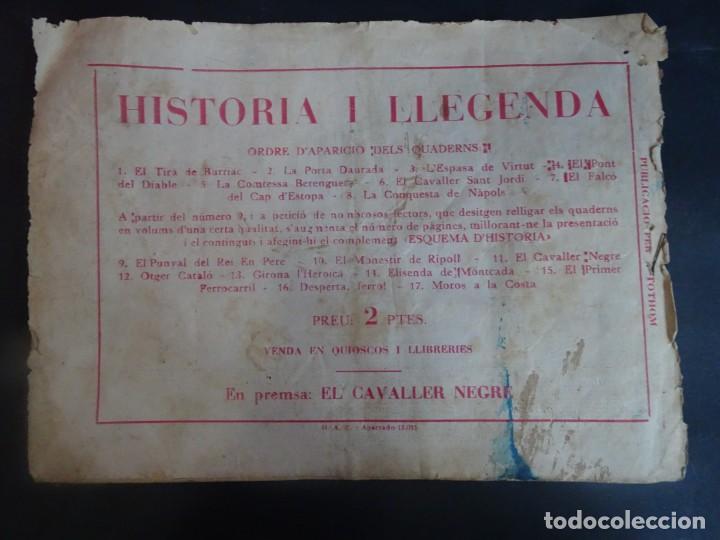 Tebeos: Historia i Llegenda - Nº 10 El monestir de Ripoll - Hispano Americana - Foto 10 - 191437978