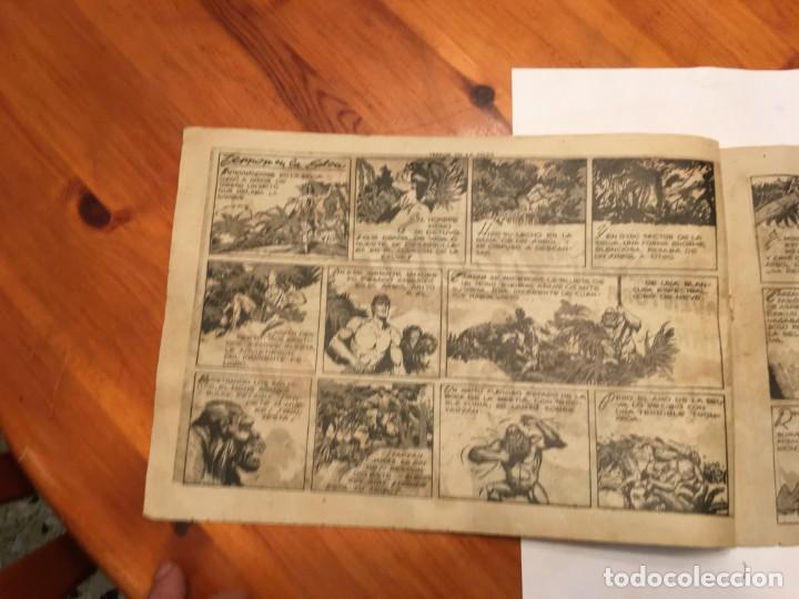 Tebeos: comic antiguo, aventura de tarzan,muy fragil , estado regular , con grietas, pero no roto, ver fotos - Foto 3 - 191632430