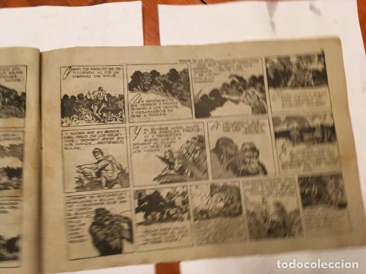 Tebeos: comic antiguo, aventura de tarzan,muy fragil , estado regular , con grietas, pero no roto, ver fotos - Foto 6 - 191632430