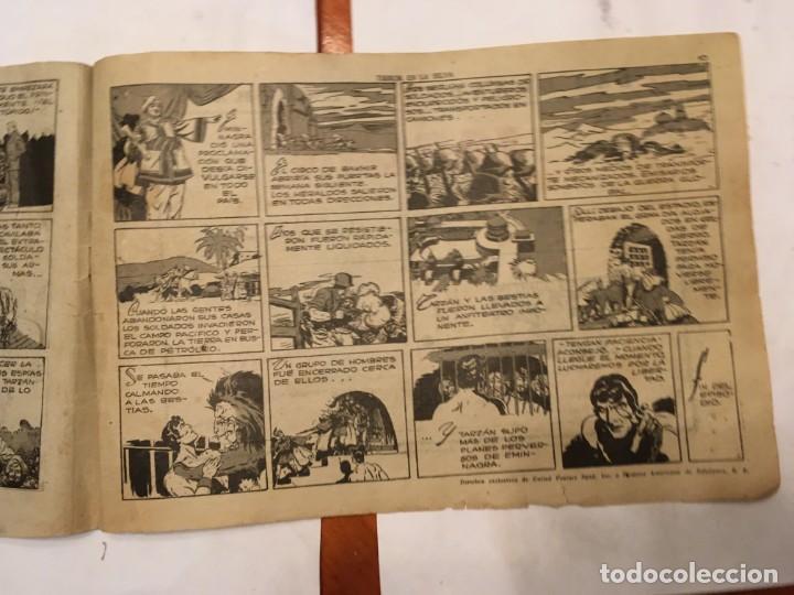 Tebeos: comic antiguo, aventura de tarzan,muy fragil , estado regular , con grietas, pero no roto, ver fotos - Foto 8 - 191632430