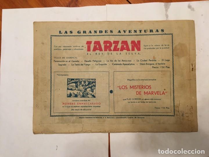 Tebeos: comic antiguo, aventura de tarzan,muy fragil , estado regular , con grietas, pero no roto, ver fotos - Foto 9 - 191632430