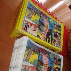 Tebeos: COMICS TARZÁN COMPLETO 63 Y CON SU CAJA , REEDICION .. Lote 191697347