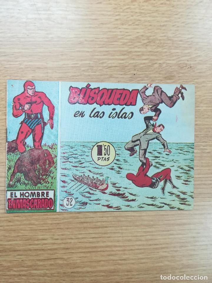 EL HOMBRE ENMASCARADO (1952) #32 (Tebeos y Comics - Hispano Americana - Hombre Enmascarado)