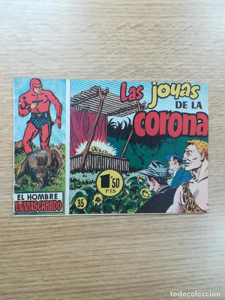 EL HOMBRE ENMASCARADO (1952) #35 (Tebeos y Comics - Hispano Americana - Hombre Enmascarado)