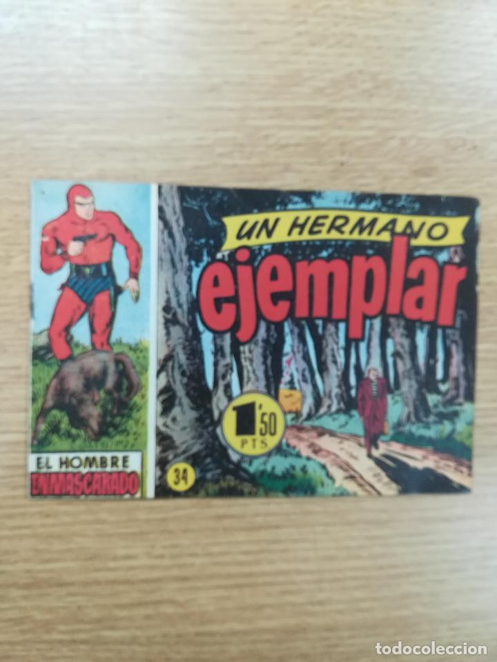 EL HOMBRE ENMASCARADO (1952) #34 (Tebeos y Comics - Hispano Americana - Hombre Enmascarado)