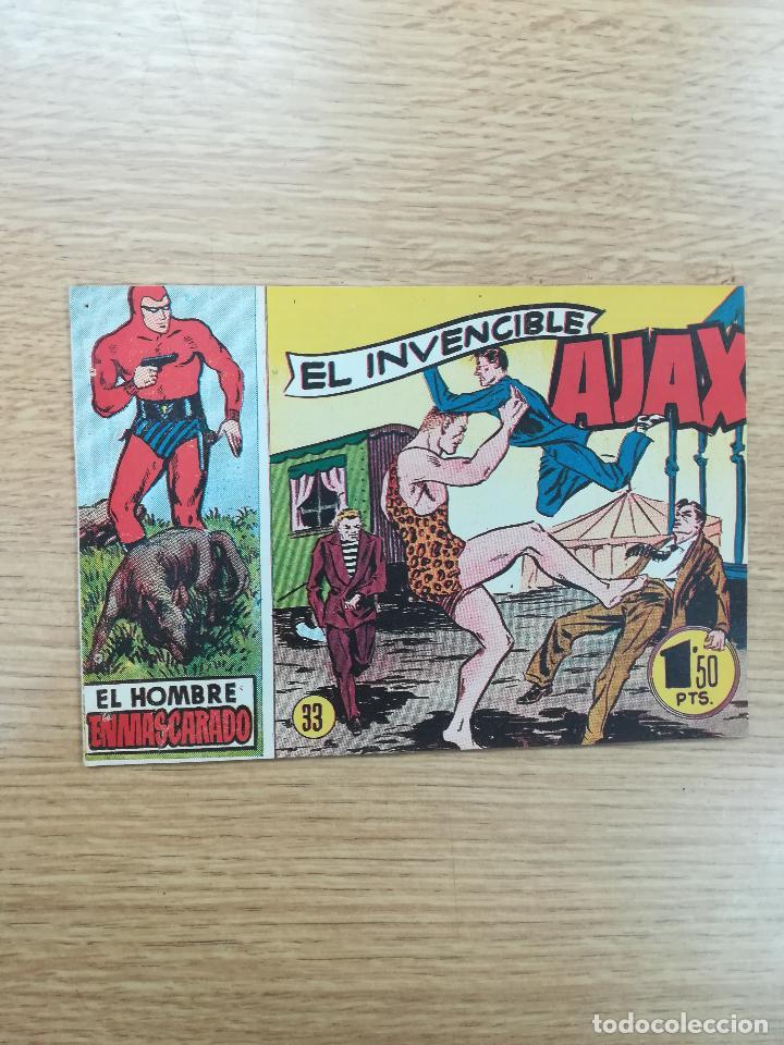 EL HOMBRE ENMASCARADO (1952) #33 (Tebeos y Comics - Hispano Americana - Hombre Enmascarado)