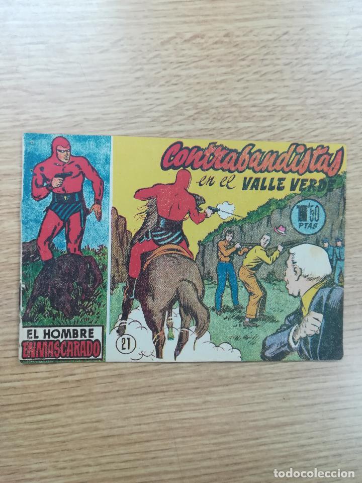 EL HOMBRE ENMASCARADO (1952) #21 (Tebeos y Comics - Hispano Americana - Hombre Enmascarado)