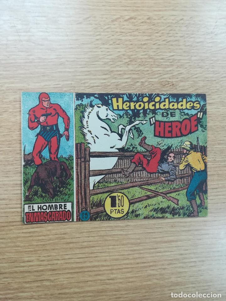 EL HOMBRE ENMASCARADO (1952) #25 (Tebeos y Comics - Hispano Americana - Hombre Enmascarado)