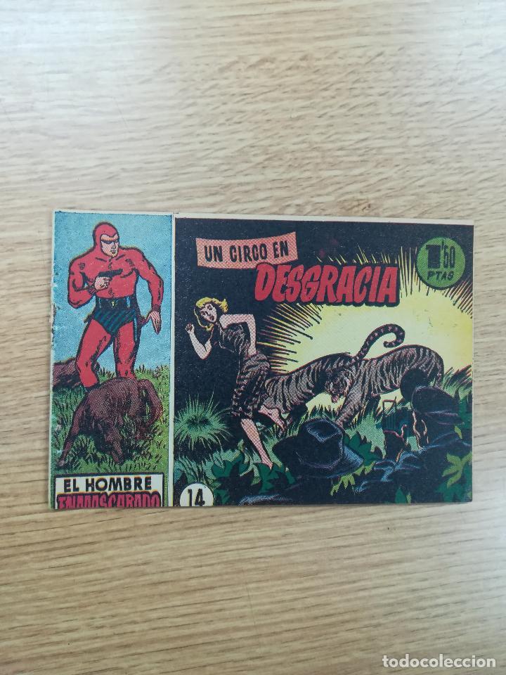 EL HOMBRE ENMASCARADO (1952) #14 (Tebeos y Comics - Hispano Americana - Hombre Enmascarado)