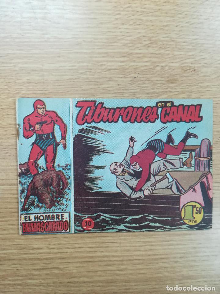 EL HOMBRE ENMASCARADO (1952) #10 (Tebeos y Comics - Hispano Americana - Hombre Enmascarado)