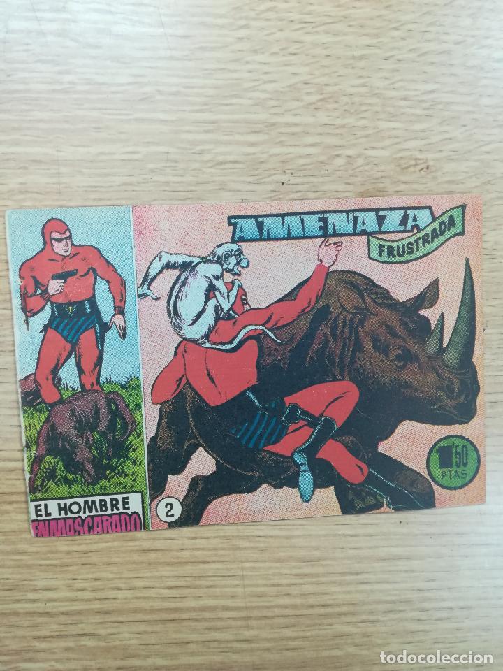 EL HOMBRE ENMASCARADO (1952) #2 (Tebeos y Comics - Hispano Americana - Hombre Enmascarado)