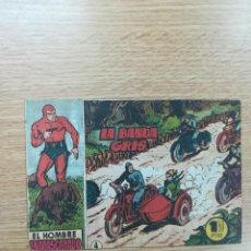 Tebeos: EL HOMBRE ENMASCARADO (1952) #4. Lote 191735106