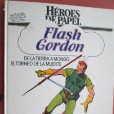 Tebeos: FLASH GORDON , DE LA TIERRA A MONGO , EL TORNEO DE LA MUERTE HEROES DE PAPEL -1984. Lote 191834417