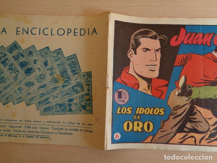 Tebeos: Juan Centella núm. 6. Los ïdolos de Oro. Original. Edita Hispano Americana 1955. 1,25 ptas - Foto 3 - 191921778
