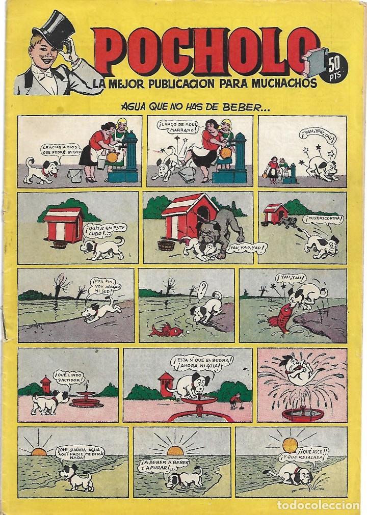 POCHOLO H.A. 1951 Nº 3 DIFICIL Y BUEN ESTADO.-IMPORTANTE LEER Y VER FOTOS (Tebeos y Comics - Hispano Americana - Otros)