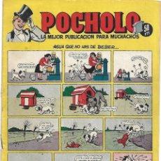 Tebeos: POCHOLO H.A. 1951 Nº 3 DIFICIL Y BUEN ESTADO.- LEER Y VER FOTOS. Lote 191968367