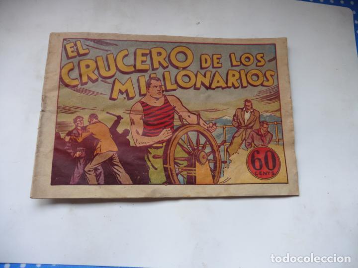 Tebeos: JUAN CENTELLA EL CRUCERO DE LOS MILLONARIOS ORIGINAL - Foto 3 - 192116090
