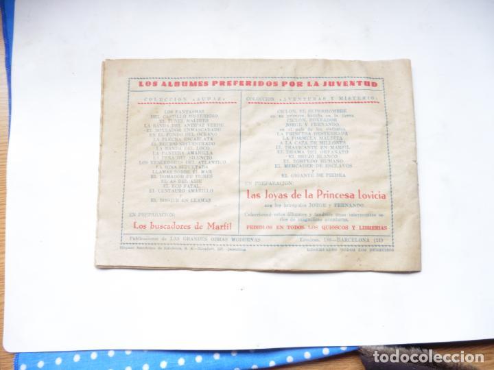 Tebeos: JUAN CENTELLA EL CRUCERO DE LOS MILLONARIOS ORIGINAL - Foto 4 - 192116090