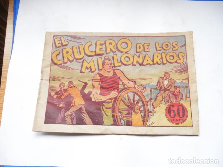 JUAN CENTELLA EL CRUCERO DE LOS MILLONARIOS ORIGINAL (Tebeos y Comics - Hispano Americana - Juan Centella)