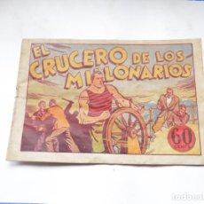 Tebeos: JUAN CENTELLA EL CRUCERO DE LOS MILLONARIOS ORIGINAL. Lote 192116090