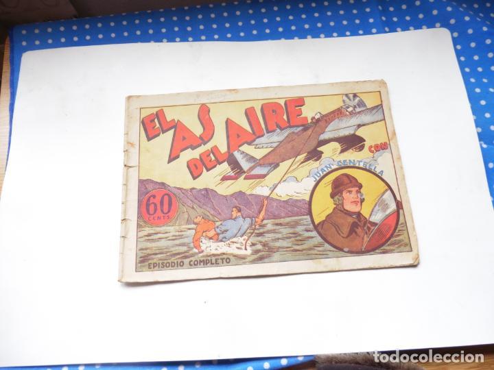 Tebeos: JUAN CENTELLA EL AS DEL AIRE ORIGINAL - Foto 3 - 192116195