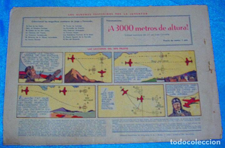 Tebeos: JORGE Y FERNANDO Nº 31, H. AMERICANA 1940,ORIGINAL.- LEER TODO Y VER FOTOS - Foto 2 - 192143917