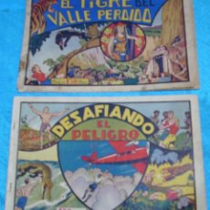 Tebeos: CAZANDO FIERAS VIVAS Nº 3 Y 7, H. AMERICANA 1942,ORIGINALES.- LEER Y VER FOTOS. Lote 192145116