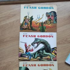 Tebeos: COMIC 1978 FLASH GORDON, VOLUMEN 1, 2 Y 3, DE ALEX RAYMOND Y MAC RABOY. Lote 192231551