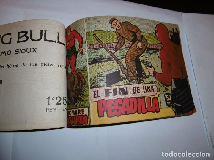Tebeos: EL HOMBRE ENMASCARADO. 19 CÓMICS AVENTURAS AÑO 1952, HISPANO AMERICANA EDICIONES, BARCELONA. - Foto 3 - 192297575