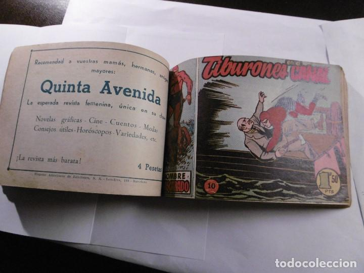 Tebeos: EL HOMBRE ENMASCARADO. 19 CÓMICS AVENTURAS AÑO 1952, HISPANO AMERICANA EDICIONES, BARCELONA. - Foto 4 - 192297575
