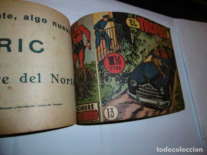 Tebeos: EL HOMBRE ENMASCARADO. 19 CÓMICS AVENTURAS AÑO 1952, HISPANO AMERICANA EDICIONES, BARCELONA. - Foto 5 - 192297575
