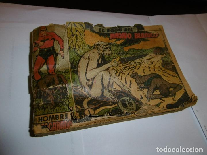Tebeos: EL HOMBRE ENMASCARADO. 19 CÓMICS AVENTURAS AÑO 1952, HISPANO AMERICANA EDICIONES, BARCELONA. - Foto 6 - 192297575