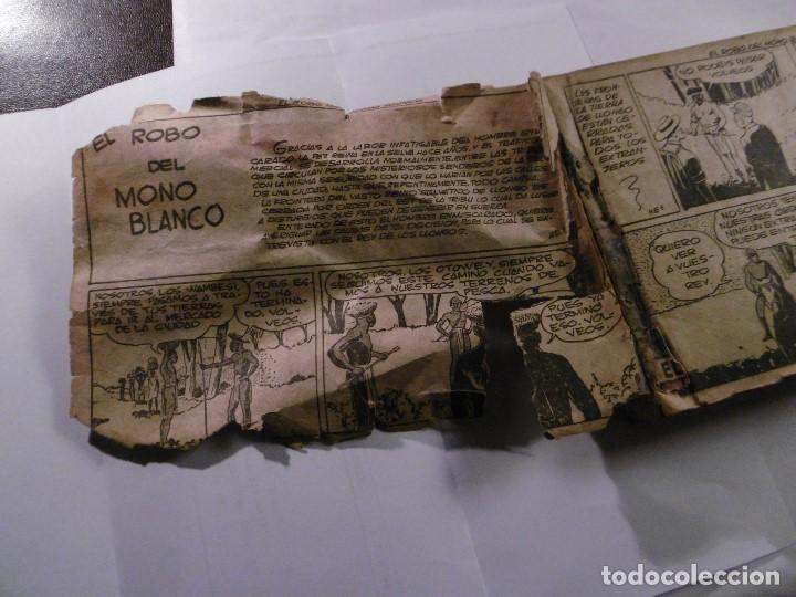 Tebeos: EL HOMBRE ENMASCARADO. 19 CÓMICS AVENTURAS AÑO 1952, HISPANO AMERICANA EDICIONES, BARCELONA. - Foto 7 - 192297575