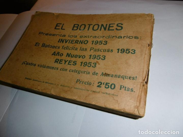 Tebeos: EL HOMBRE ENMASCARADO. 19 CÓMICS AVENTURAS AÑO 1952, HISPANO AMERICANA EDICIONES, BARCELONA. - Foto 11 - 192297575