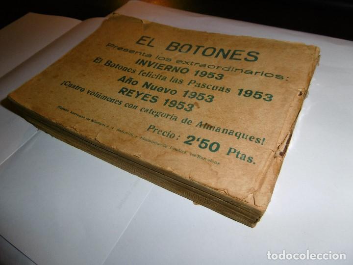 Tebeos: EL HOMBRE ENMASCARADO. 19 CÓMICS AVENTURAS AÑO 1952, HISPANO AMERICANA EDICIONES, BARCELONA. - Foto 12 - 192297575