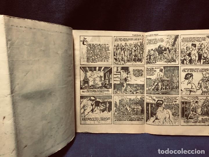 Tebeos: cómic blanco negro tarzán el invencible hispano americana ediciones mediados s xx - Foto 2 - 192321410